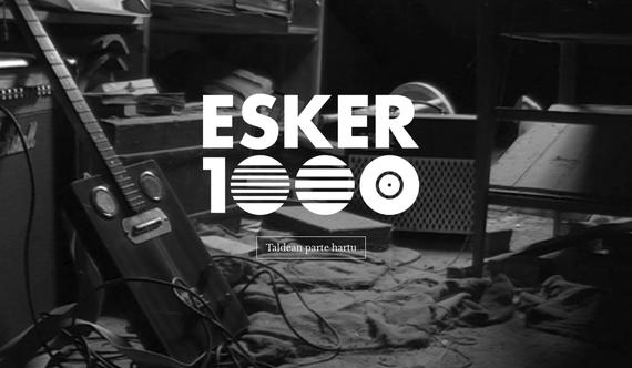 'Esker 1000' musika ekimena