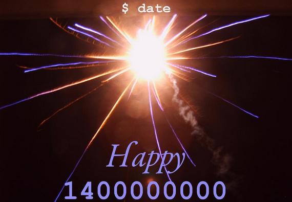 Zorionak, Unix denboran 1.400 milioi ospatzen ditugu gaur!