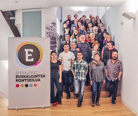 Eskualdeko 40 entitatek Aiaraldeko Euskalgintza Kontseilua sortu dute euskararen normalizazioan elkarlanean aritzeko