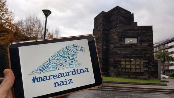 #MareaUrdina: autismoaren gaia bisibilizatzeko, Gipuzkoako kostaldea igerian zeharkatuz