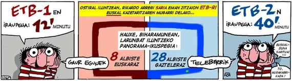 ETB 2 vs. ETB 1 (Olariagaren zinta)
