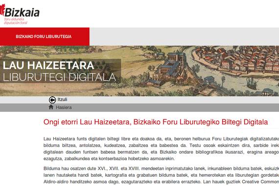 Lau Haizeetara, Bizkaiko funts zaharren bilatzailea