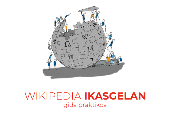 Wikipedia ikasgelan lantzeko irakasleen gida praktikoa aurkeztu du Ikastolen Elkarteak