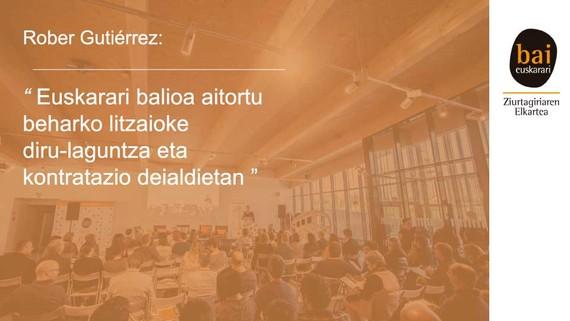 Hizkuntza irizpideak - Rober Gutiérrez