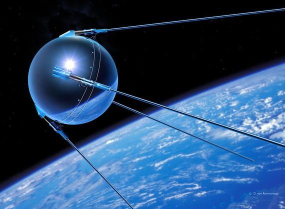 Gaur 60 urte jaurti zuten lehen satelite artifiziala, #Sputnik1