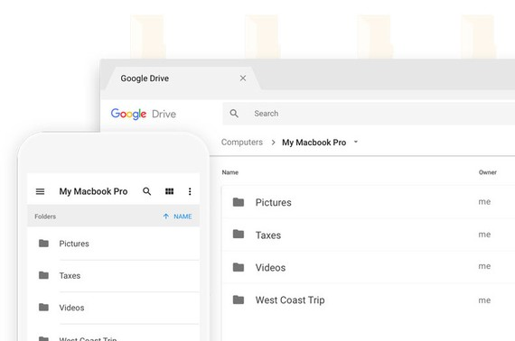 Google drive bacup