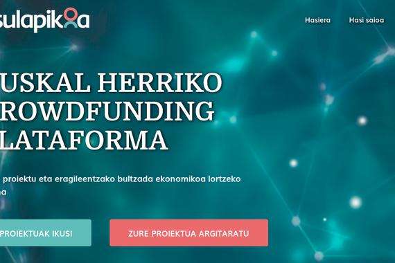 Crowdfunding 7 Katu gaztetxearentzat, Itsulapikoa plataforman