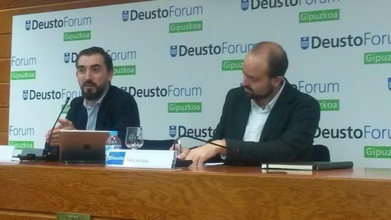 Ignacio Escolarrek ElDiario.es-en eredu independentea esplikatu du Donostian
