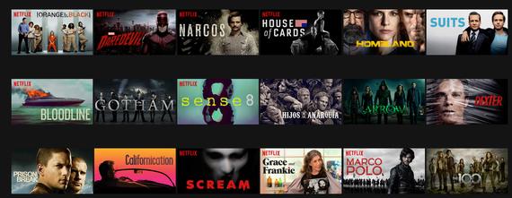 Netflix erabiltzen, lehenengo inpresioak