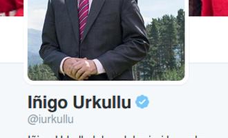 Iñigo Urkullu Twitter profila