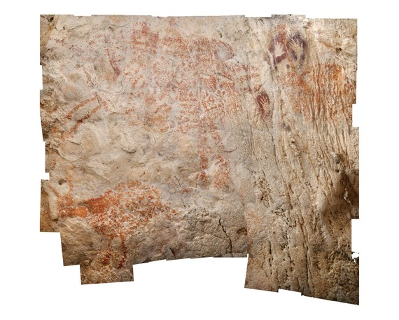 Labar-arte figuratiboaren aztarna zaharrenak aurkitu dituzte Borneon