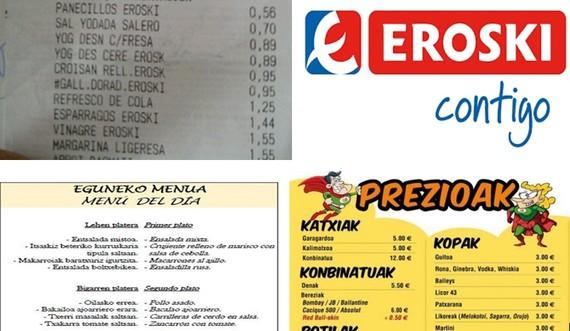 Ekimena 26rako: Etiketajea euskaraz, eta tabernetan ondo artatzea euskaldunak