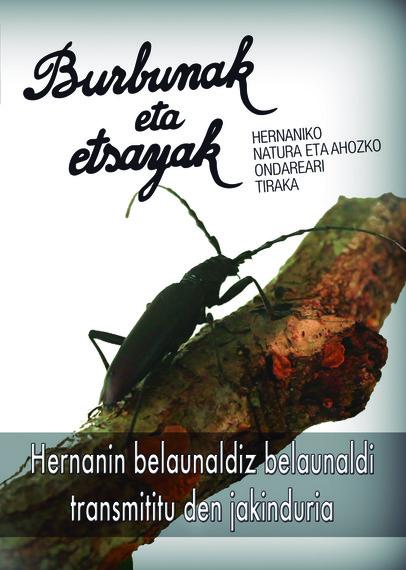 """""""Burbunak eta etsayak"""": Hernaniko natura eta ahozko ondarea"""