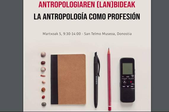 Antropologiaren bideak, antropologiaren lanbideak