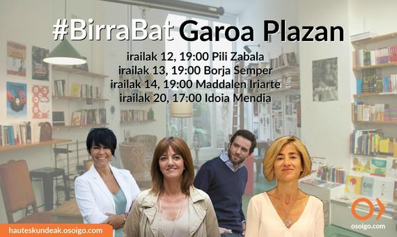 #BirraBat Garoa Plazan