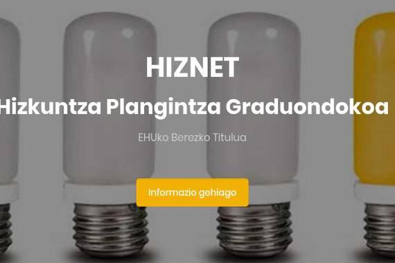 Soziolinguistikaren inguruko ikerketa-lan berriak argitaratu ditu HIZNET graduondokoak