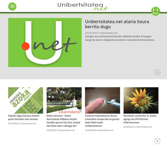 Unibertsitatea.net ataria itxura berritu dugu