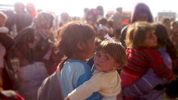 """""""Kobaneko erbesteratzea"""" filma, kurduen ihesaldiari buruzko dokumentala"""