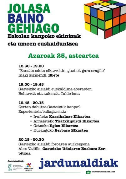 Gasteizko Oihaneder Euskararen Etxea (AGENDA)