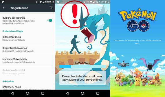 Pokemon GO jokoaren erabilpen-datu harrigarriak