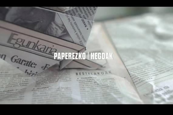 Paperezko Hegoak: Euskaldunon Egunkariaren itxieraren inguruko dokumentala