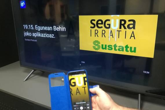 20.01: Podcasta itzuli da Segura Irratiarekin