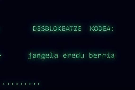 """Berton Bertokoa taldearen erreibindikazioa sarean, """"blokeo"""" simulazioarekin"""