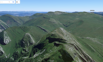 Google maps 3d bistak euskal herrian - Txindoki