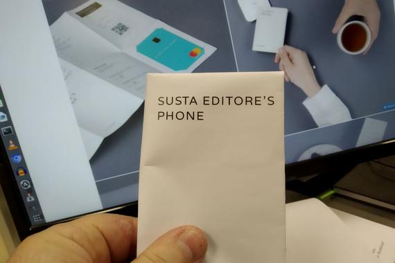 Paper Phone, paperezko eskuko telefonoa