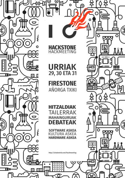 Añorga Txikiko Firestonen urriaren 29, 30 eta 31an Hackmeetinga izango da
