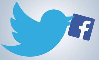 Twitter gora eta Facebook behera