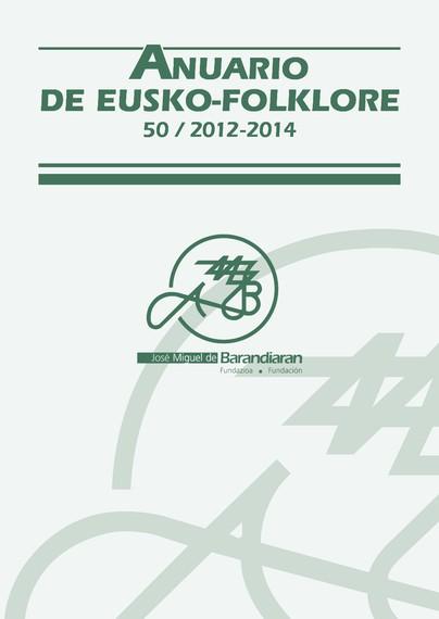 Eusko Folklorearen Urtekariaren 50. zenbakia kalean