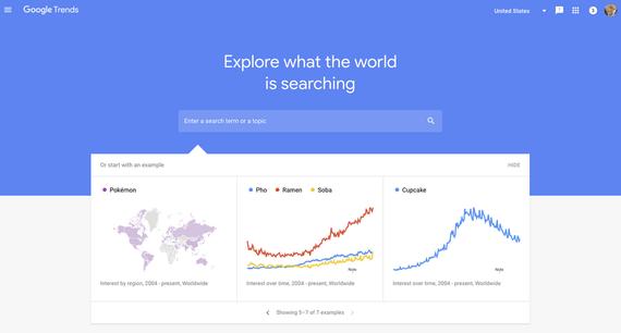 """Google Trends berria aurkeztu dute: """"Zer bilatzen dute internautek?"""""""