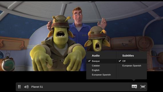 Netflixen euskarazko audio aukera