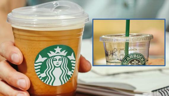 Lastotxoak aurreztu arren, plastiko gehiago gastatuko du Starbucks-ek