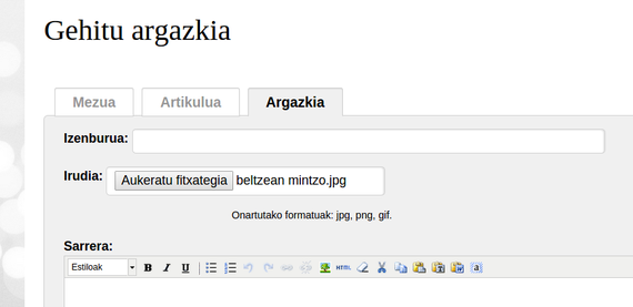 Sustatu argazki-artxibo gisa: Argazkiak.org-en integrazioa webgune honetan