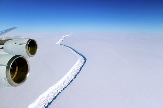 Larsen C iceberg erraldoia