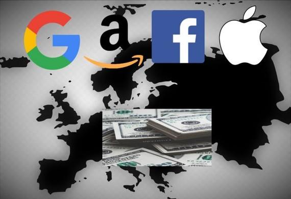 Frantziako estatuak tasa bat ezarriko die enpresa teknologiko handiei (Google, Amazon, Apple eta Facebook)