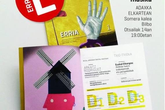 Erria, aldizkari politiko berria