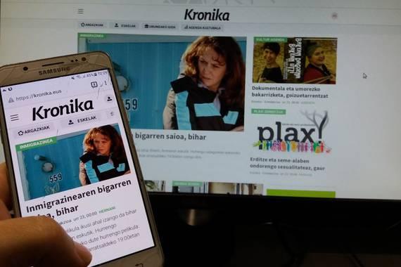 Kronika.eus, Urumea bailarako Interneteko albistegia, eguneratu dute