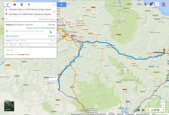 Google maps berria probatzeko aukera dago iada
