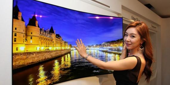 Biribilkatu daitekeen telebista ultra-fina aurkeztuko du LG-k 2019an