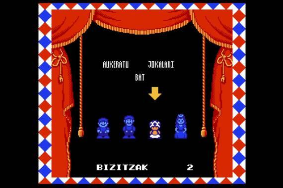 Super Mario Bros 2 joko klasikoa euskaraz