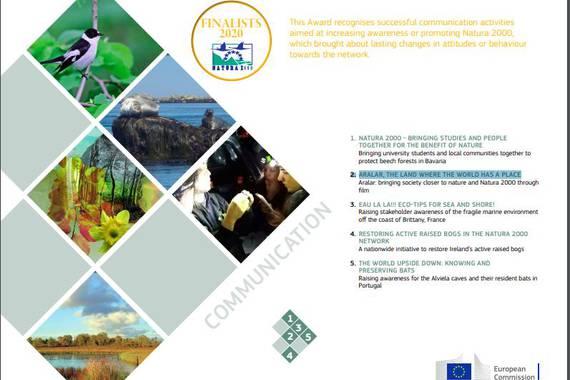 Aralarri buruzko dokumentala, Europako Natura ingurumen sarietan