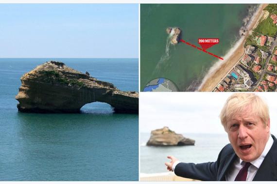 Lapurdiko geografian inspiratu ote zen Boris Johnson?