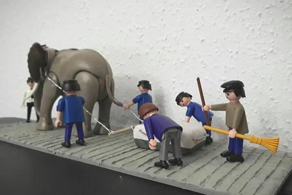 Peio Agirreren playmobil kustomizatuak