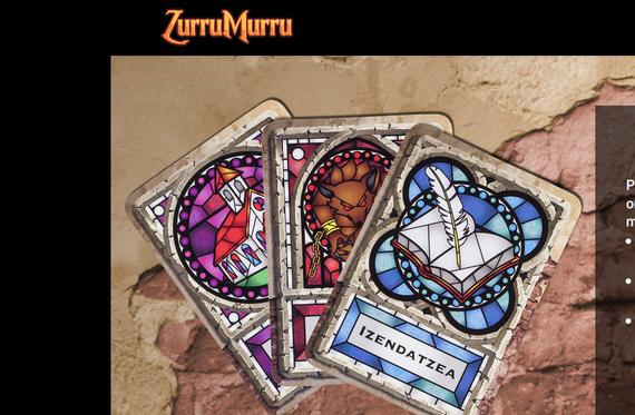 ZurruMurru: karta fisikoak eta app bat konbinatzen dituen euskarazko jokoa