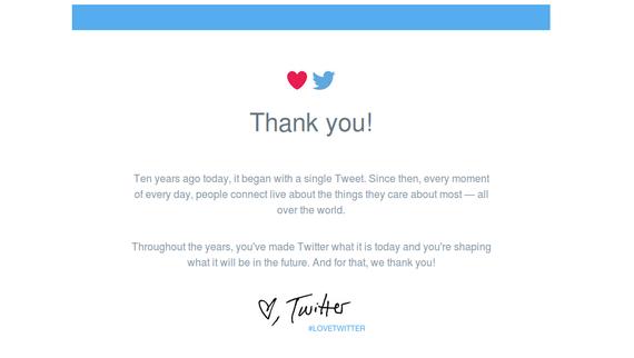 Twitterrek 10 urte