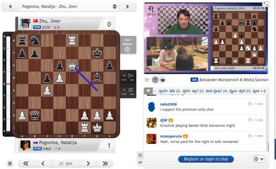 chess zuzenean