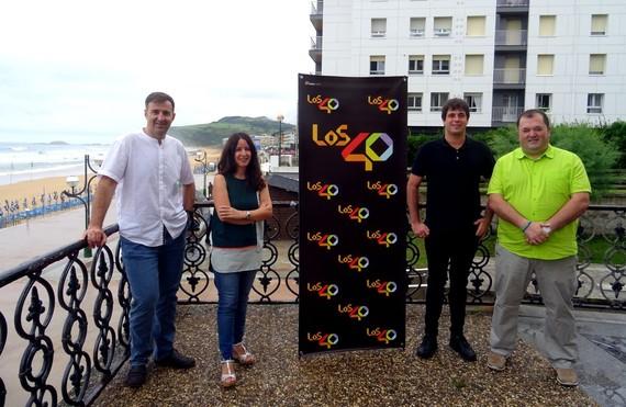 Zarautz, ostalariak eta 'Los 40 summer live'